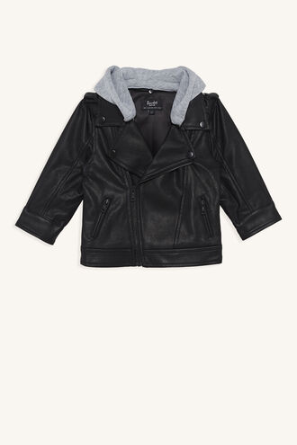 MOTLEY CREW JACKET in colour JET BLACK