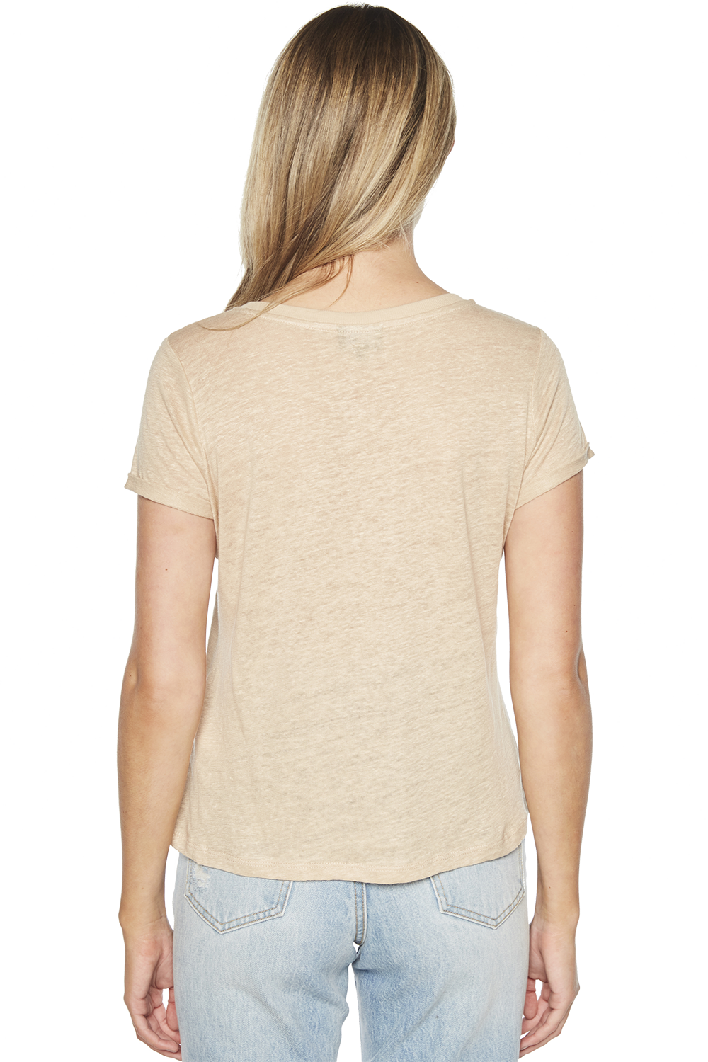 BRIXTON TEE in colour MOONLIGHT