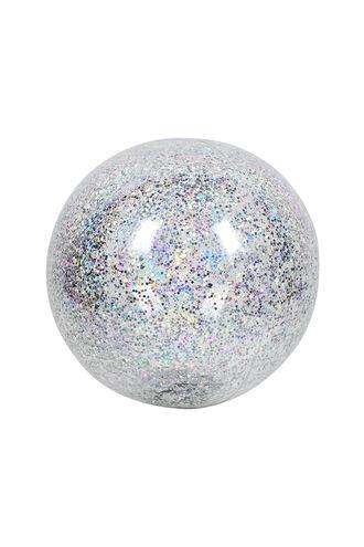 Inf. Beach Ball Glitter in colour BRIGHT WHITE