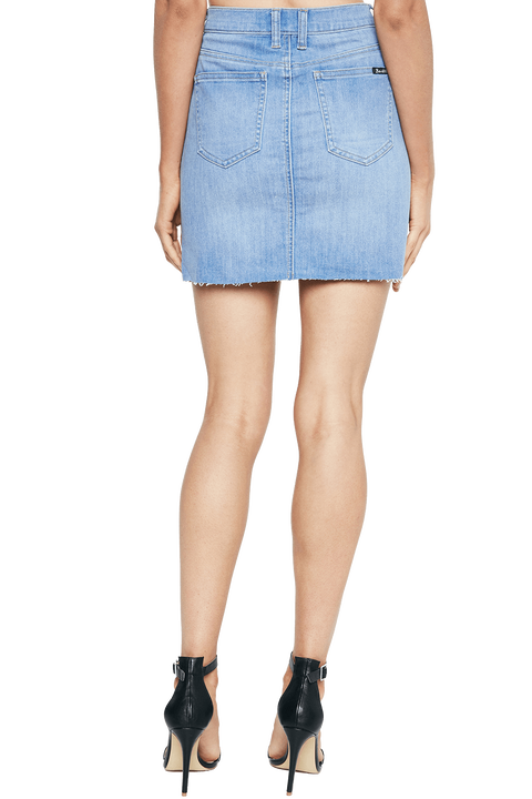 DREE DENIM MINI SKIRT in colour WINTER SKY