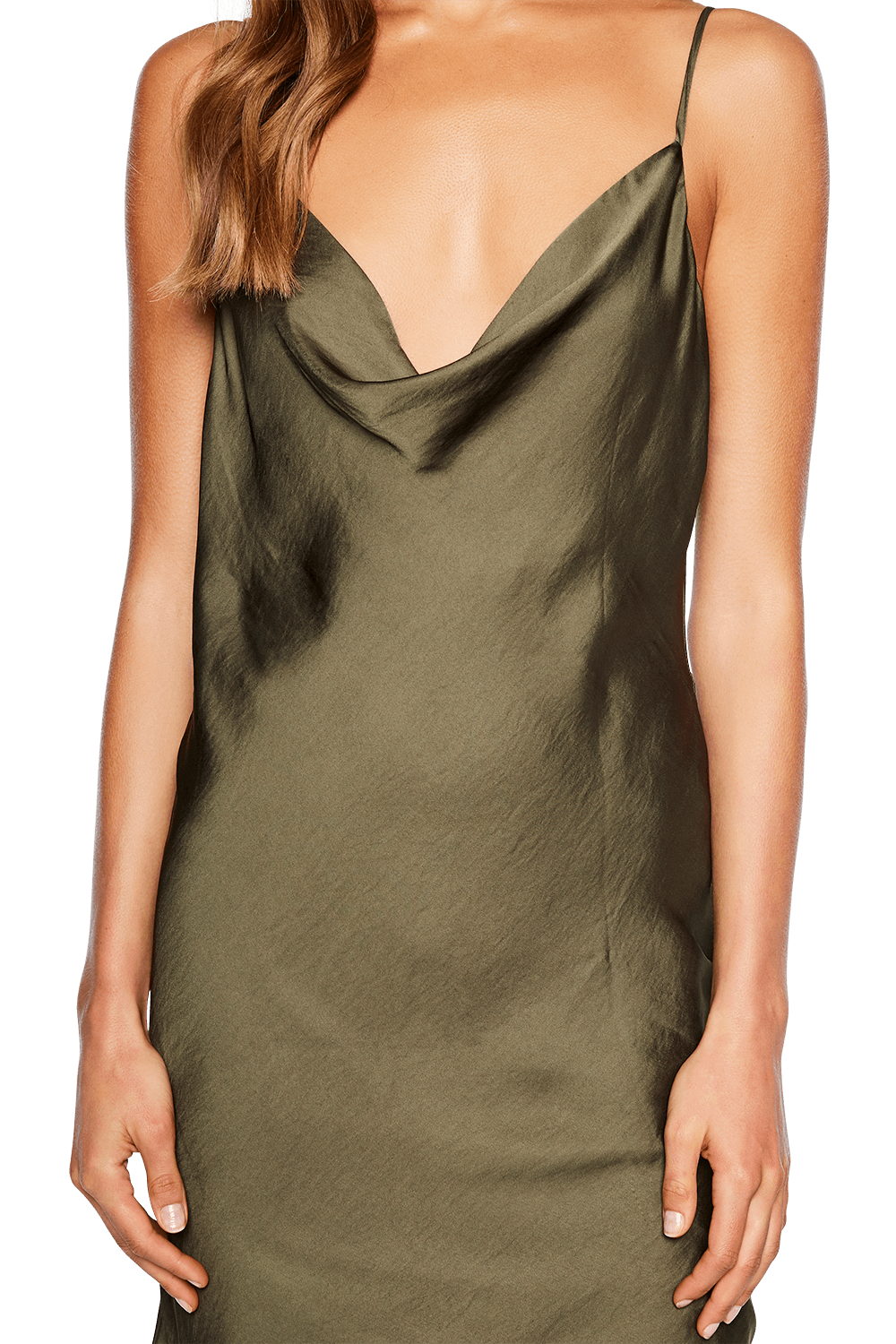 STRAPPY SLIP TUNIC in colour SEA TURTLE