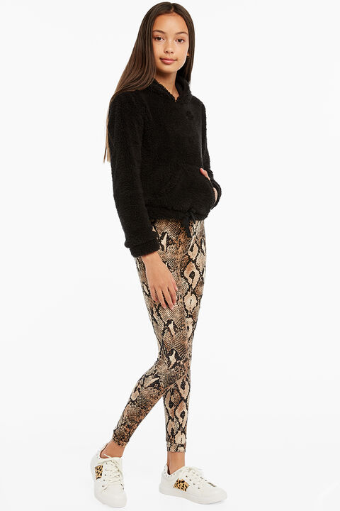 GIGI SNAKE LEGGING in colour EGRET