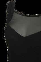 IRIS DRESS in colour CAVIAR