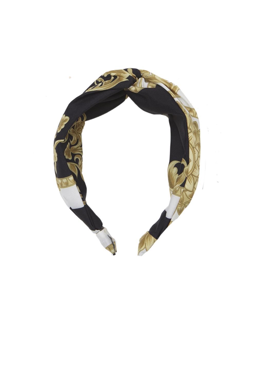 MEDALLION HEADBAND in colour BRIGHT WHITE