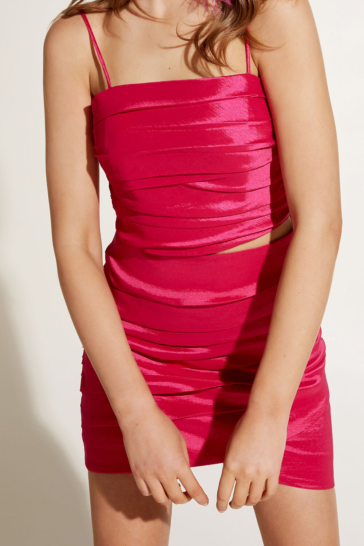 AMARA TOP in colour SHOCKING PINK