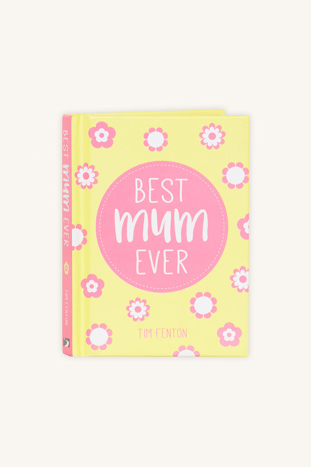 BEST MUM EVER BOOK in colour BRIGHT WHITE