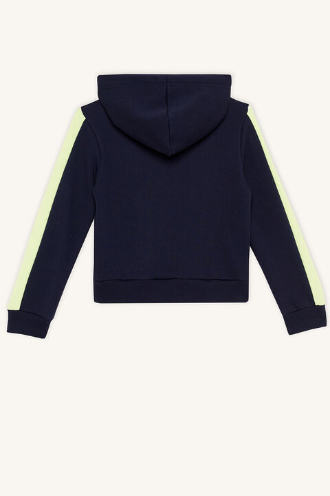 FIERCE HOODY in colour BLACK IRIS