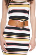 WIDE WAIST BELT in colour BEIGE
