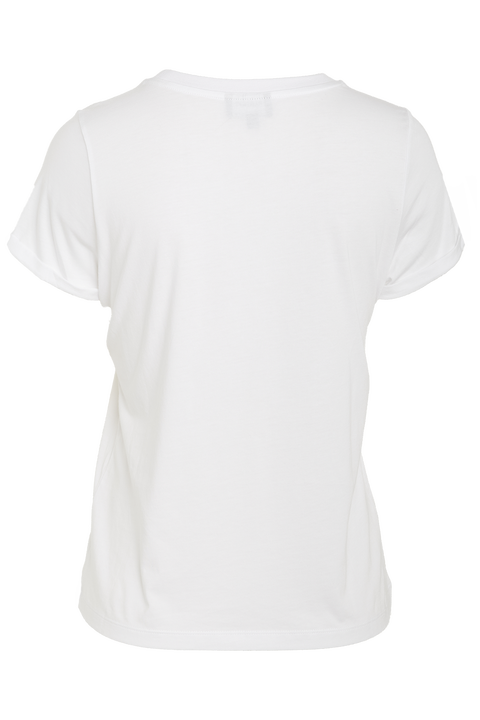 BDT STATEMENT TEE in colour BRIGHT WHITE