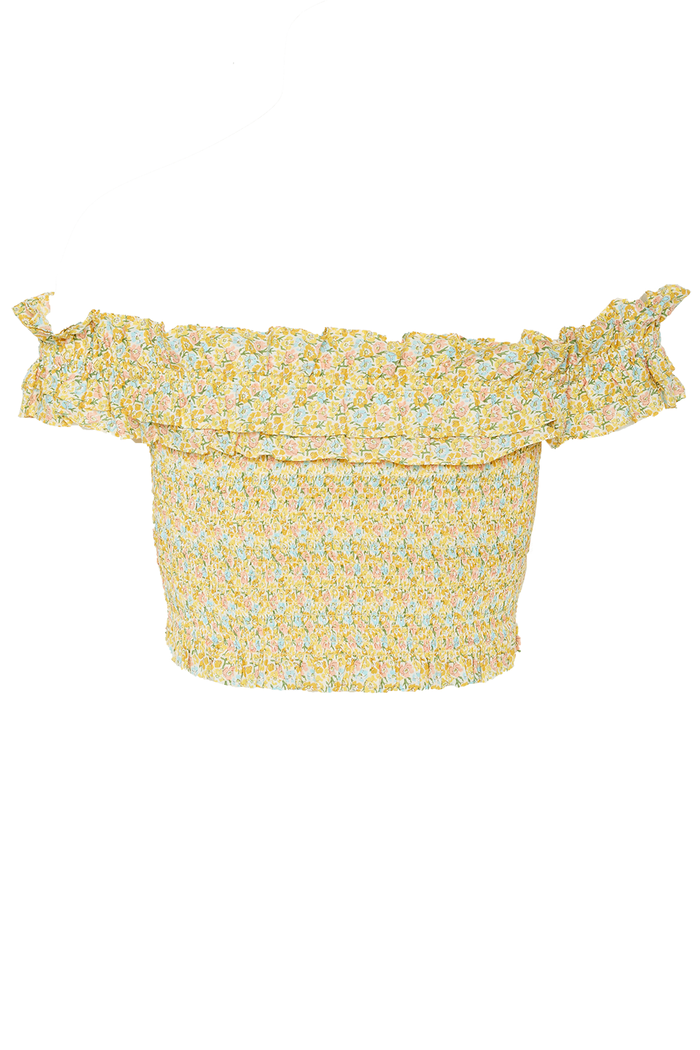 LILIAN TOP in colour PASTEL YELLOW