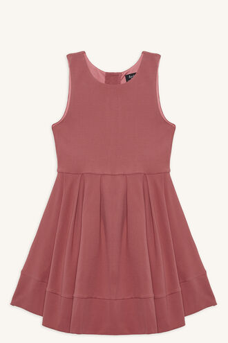 AURELIA HI-LO DRESS in colour DUSTY ROSE