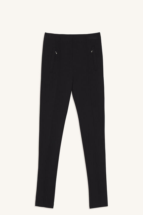 MELINA PULL ON PANT in colour JET BLACK