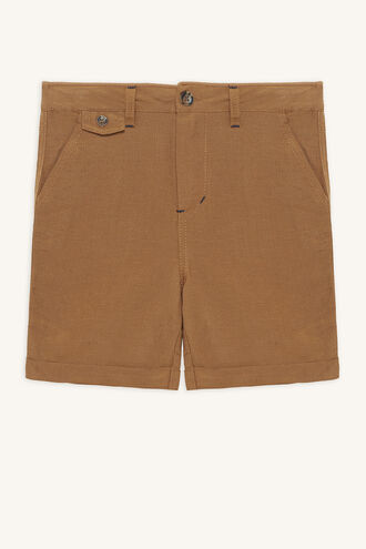 QUINTON CHINO SHORT in colour INDIAN TAN