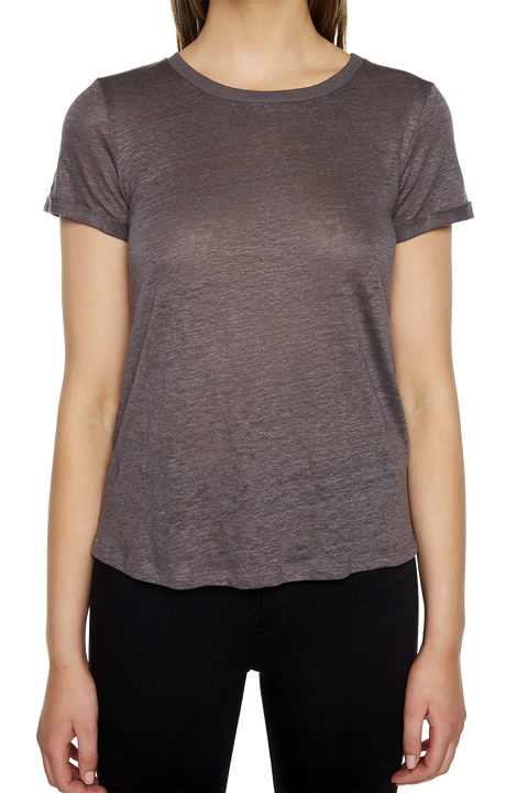 BRIXTON TEE in colour FROST GRAY