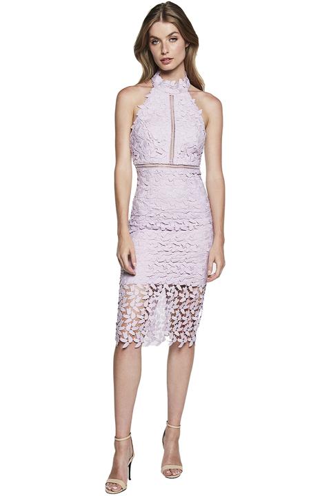 Gemma Halter Dress in colour ORCHID BLOOM