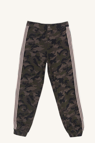 CAMO MISCHIEF PANT in colour BURNT OLIVE