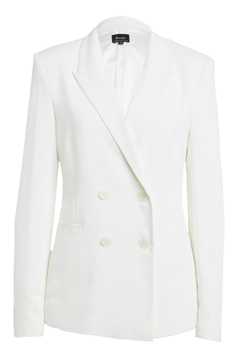 PARISIENNE BLAZER in colour CLOUD DANCER