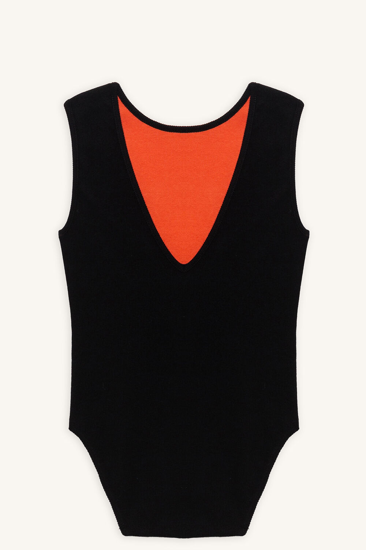 tween girl savannah bodysuit in colour JET BLACK