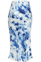 KENDAL BIAS SKIRT in colour TURKISH SEA