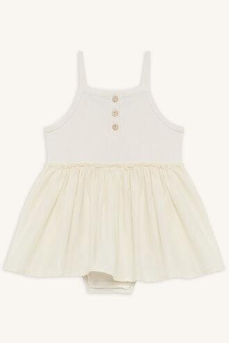 BASIC DRESS GROW in colour CLOUD DANCER