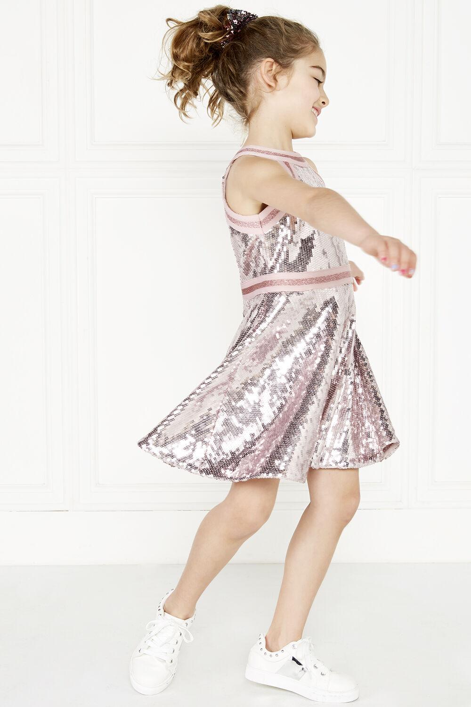 JOSIE HALTER DRESS in colour PALE DOGWOOD