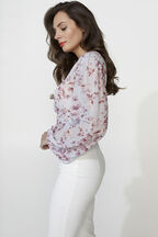MABEL TOP in colour BALLAD BLUE