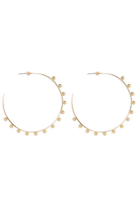 ETERNAL HOOPS in colour GOLD EARTH