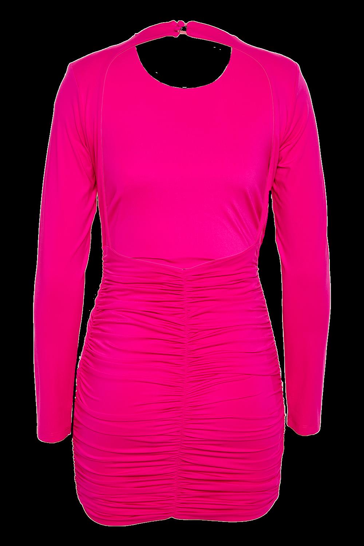 ELENA DRESS in colour BEETROOT PURPLE