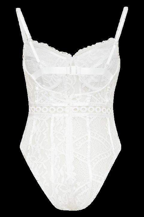 COCO BODYSUIT  in colour BRIGHT WHITE