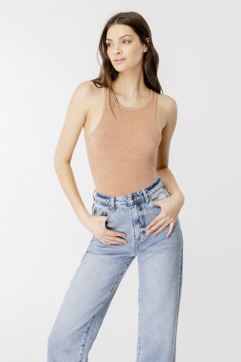 SANTINA KNIT TOP in colour TUSCANY