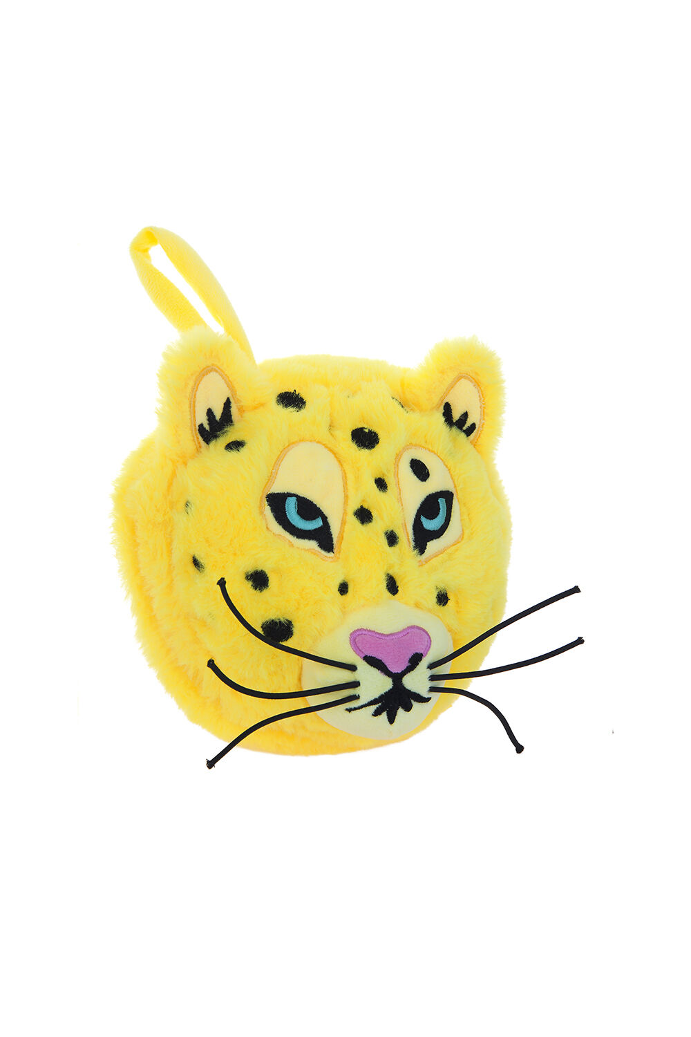 Leopard 2 in 1 Travel Pillow in colour TRANSPARENT YELLOW