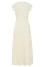 MABERLY DRESS in colour CLOUD DANCER