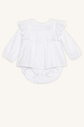 EDNA SHIRT GROW in colour BRIGHT WHITE
