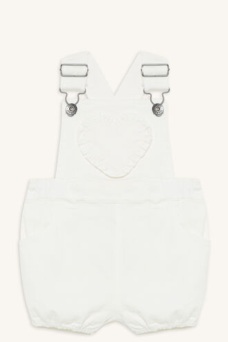HEART OVERALL in colour BRIGHT WHITE