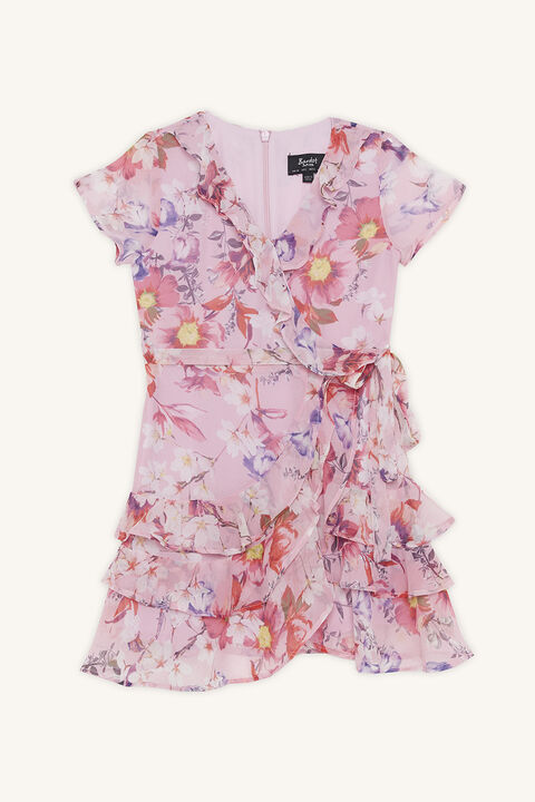 LUELLA RARA DRESS in colour PRISM PINK