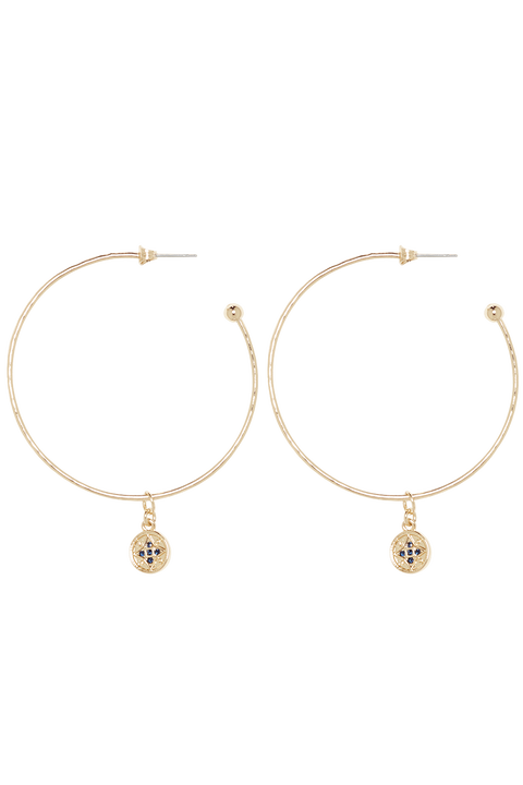 ETERNAL CHARM_ HOOPS