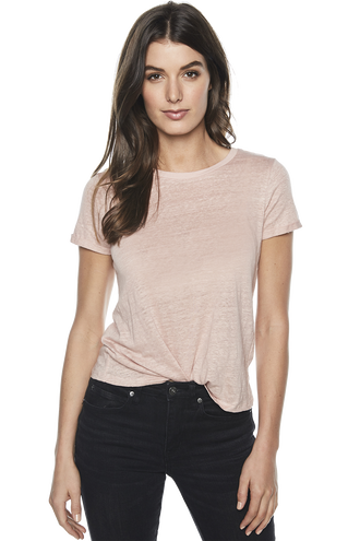 BRIXTON TEE in colour MISTY ROSE