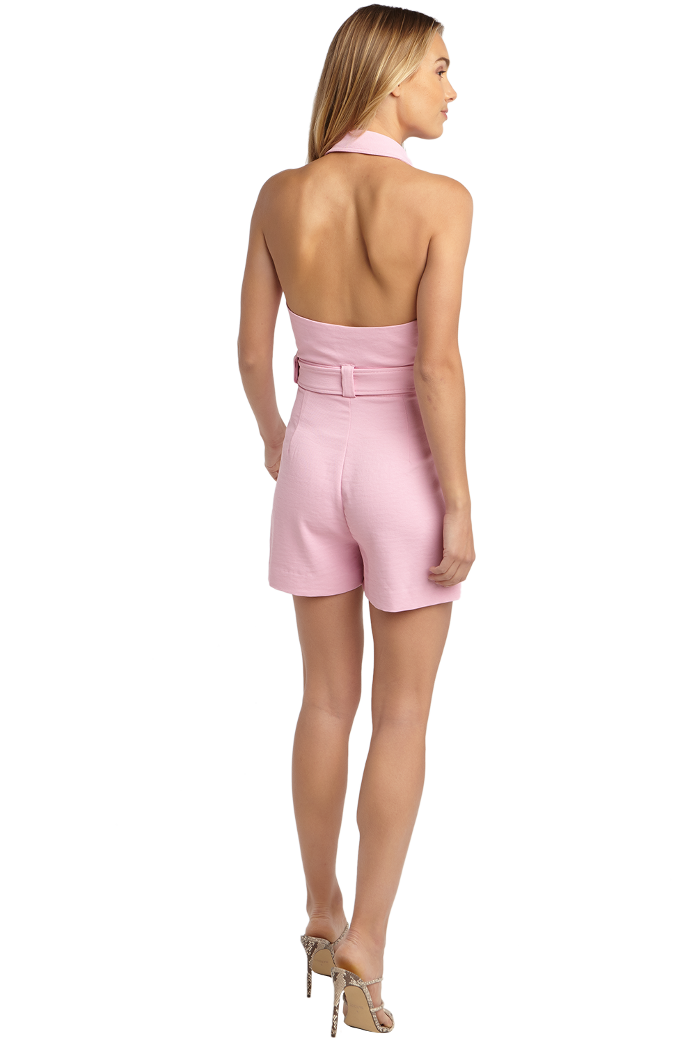 MALIBU PLAYSUIT in colour LILAC SACHET