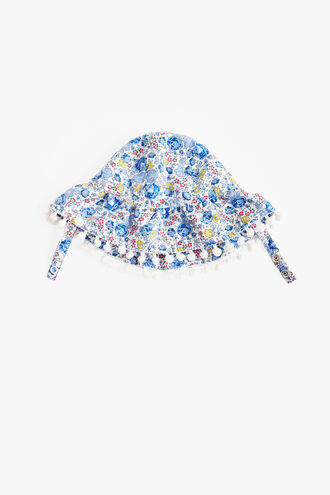 ADELINE BATHER BABY BONNET in colour STAR WHITE