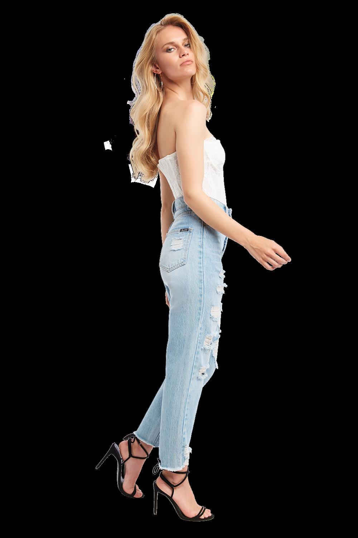 OSKAR LACE BODYSUIT in colour BRIGHT WHITE