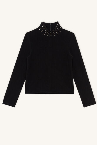 PIPER JEWEL SKIVVY in colour JET BLACK