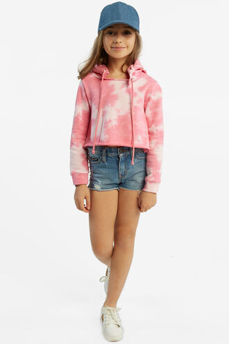 CROPPED HOODIE in colour BALLERINA