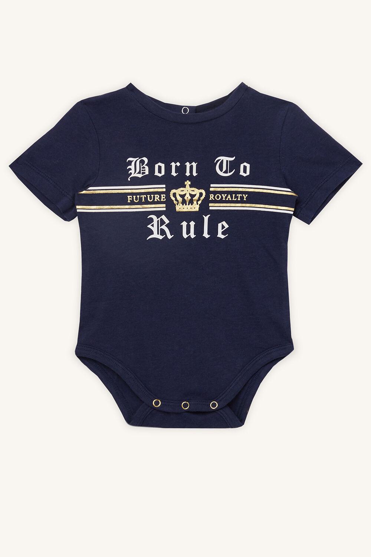 BORN TO RULE GROW in colour BLACK IRIS