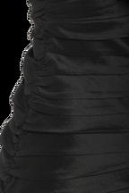 JAMIE FRILL DRESS in colour CAVIAR