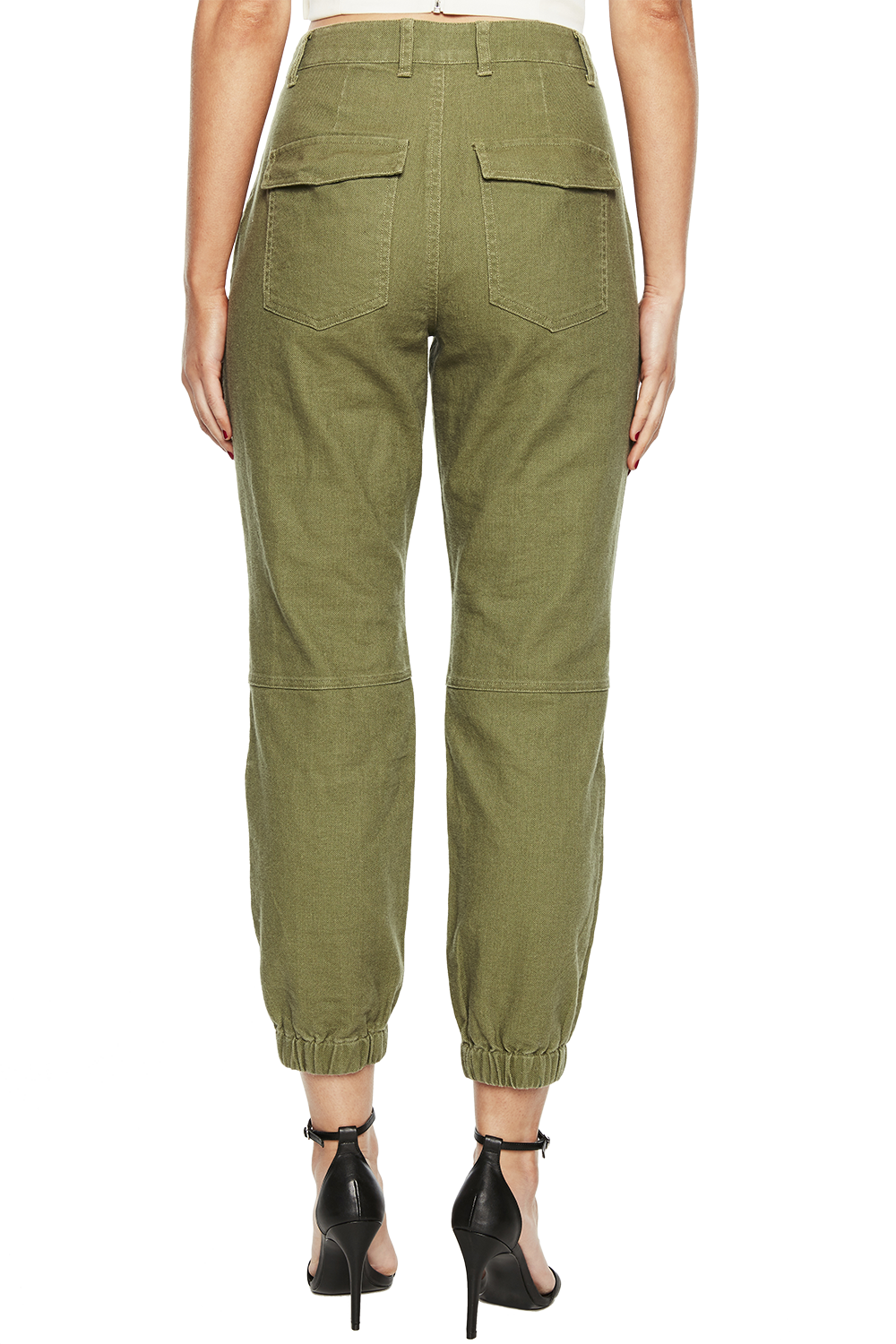 KHAKI CARGO PANT in colour BURNT OLIVE