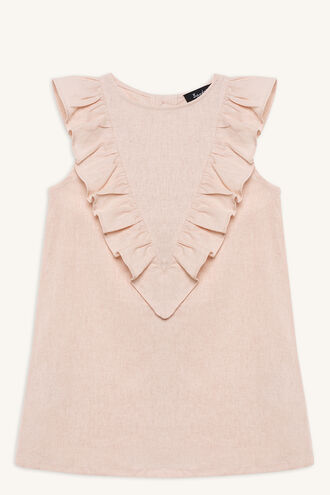 HILDE SHIFT DRESS in colour SILVER PEONY