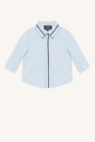 LINEAR SHIRT in colour BABY BLUE