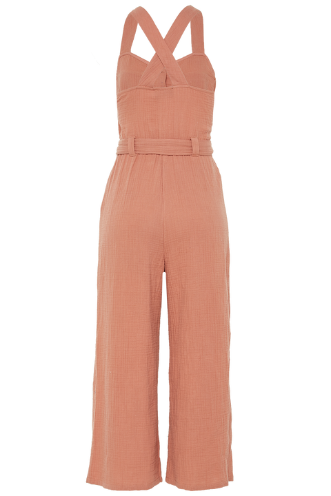 RIVA JUMPSUIT in colour CORAL CLOUD