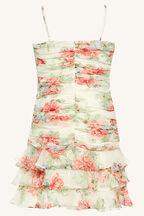 DREAMER MINI DRESS in colour MARSHMALLOW