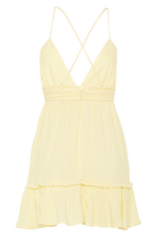 LOTTIE SUMMER DRESS in colour BUTTERCUP